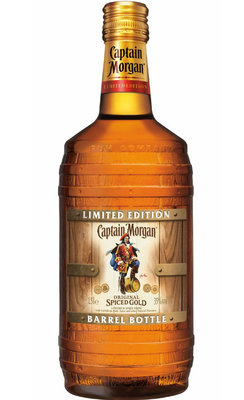 Captain Morgan Spiced Barrel Bottle